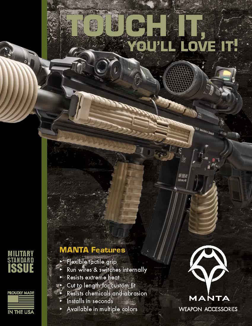 Manta Defense Weapon Accessories Brochure